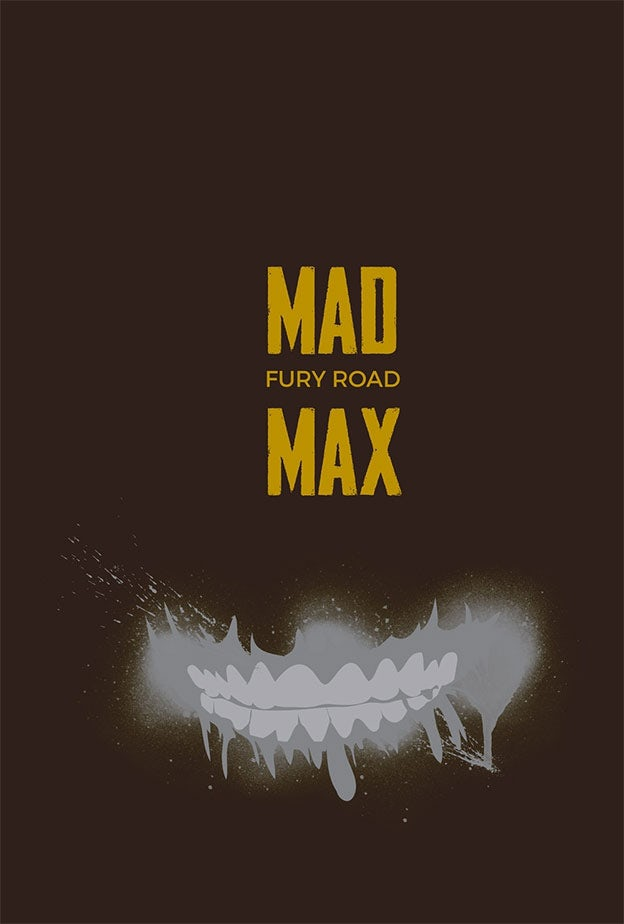 Mad Max: Fury Road minimal movie poster