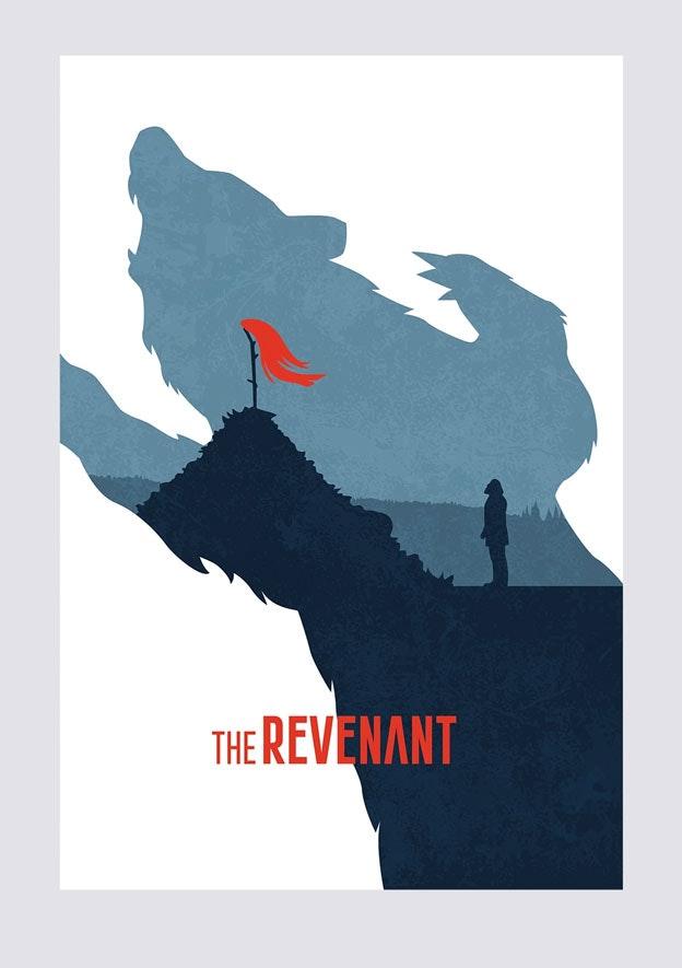 The Revenant minimal movie poster