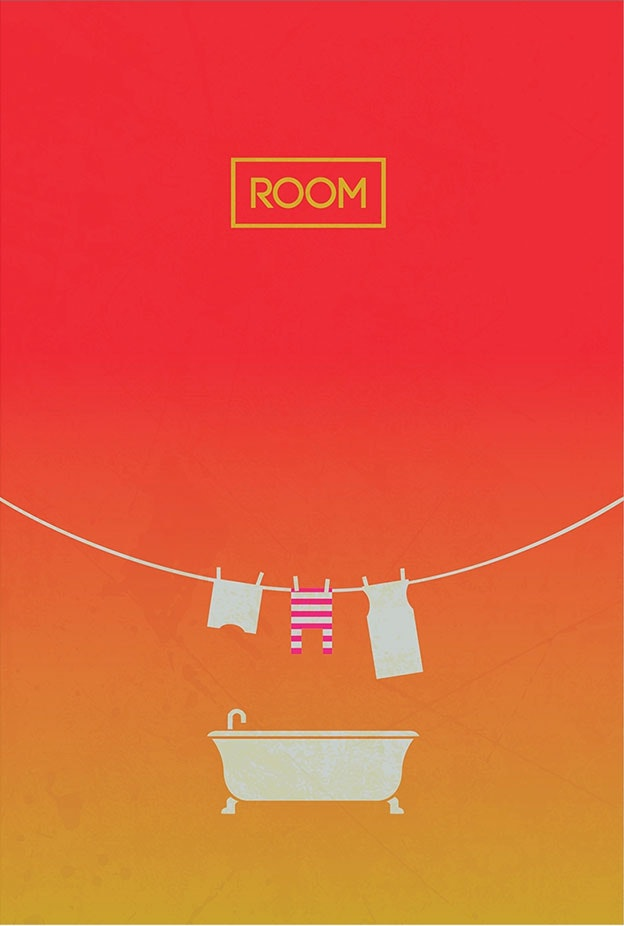 Room minimal movie poster