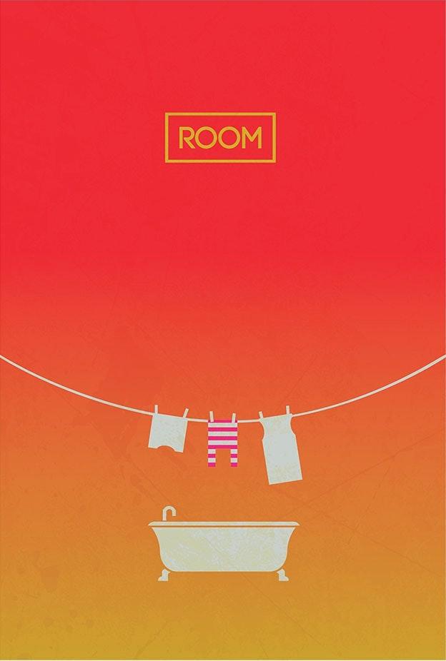 Room minimal movie poster