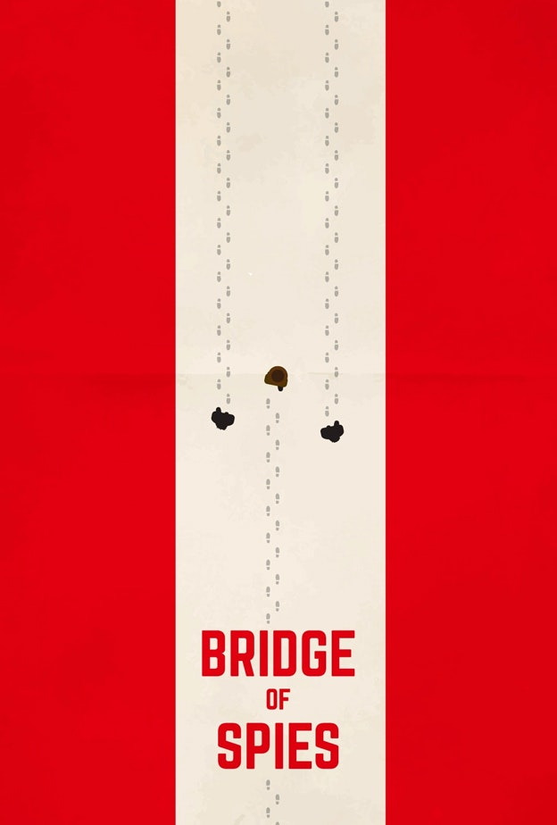 Bridge of Spies minimal movie poster