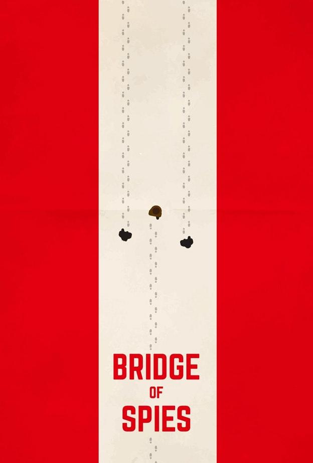 Bridge of Spies minimal movie poster