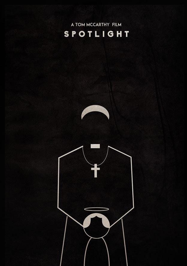 Spotlight minimal movie poster