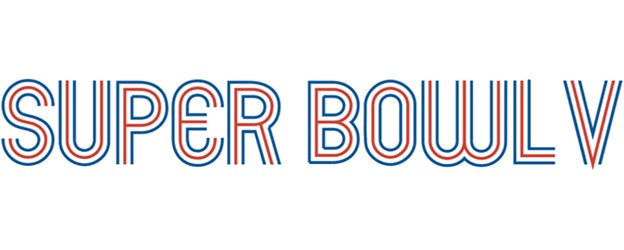 Super Bowl V logo