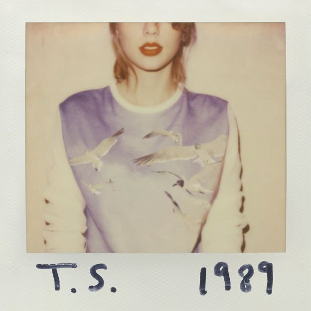 Taylor Swift 1989 cover design