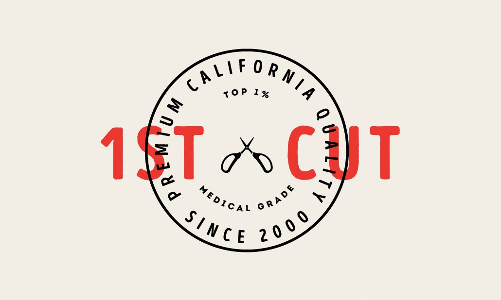 Dave Roach's logo design for 1stcut