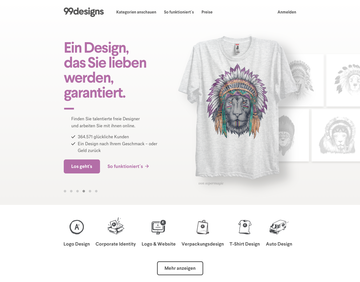 99designs-homepage rebrand