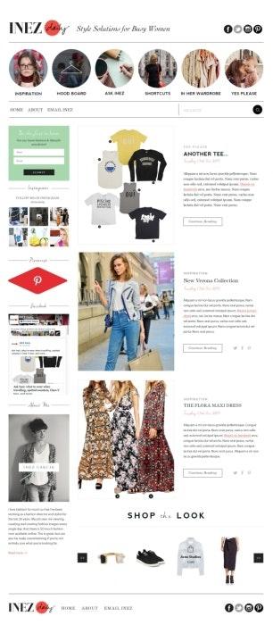 ブログデザイン例1