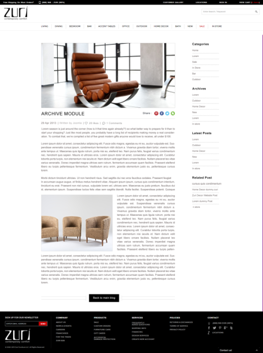 ブログデザイン例3