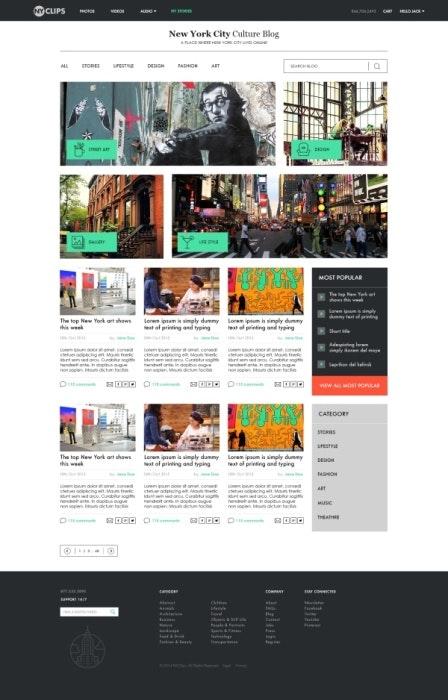 ブログデザイン例5