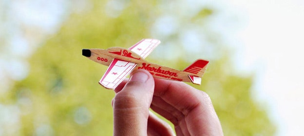Business card for Norburn Aircraft Supply