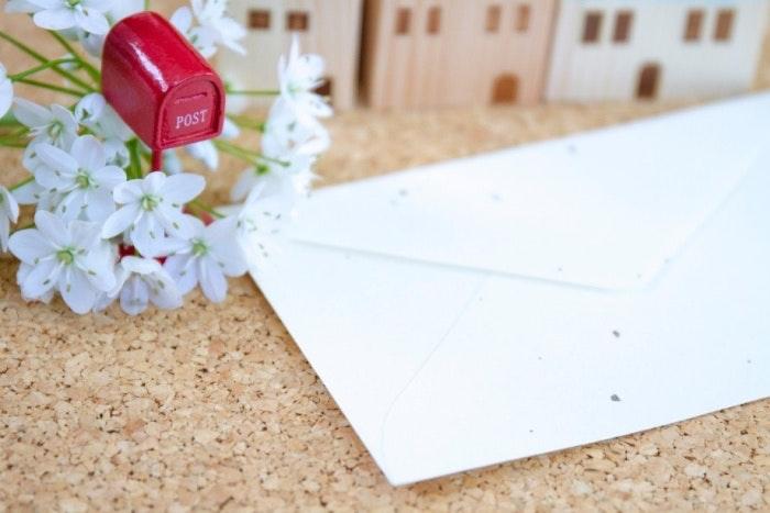 オシャレな封筒デザイン