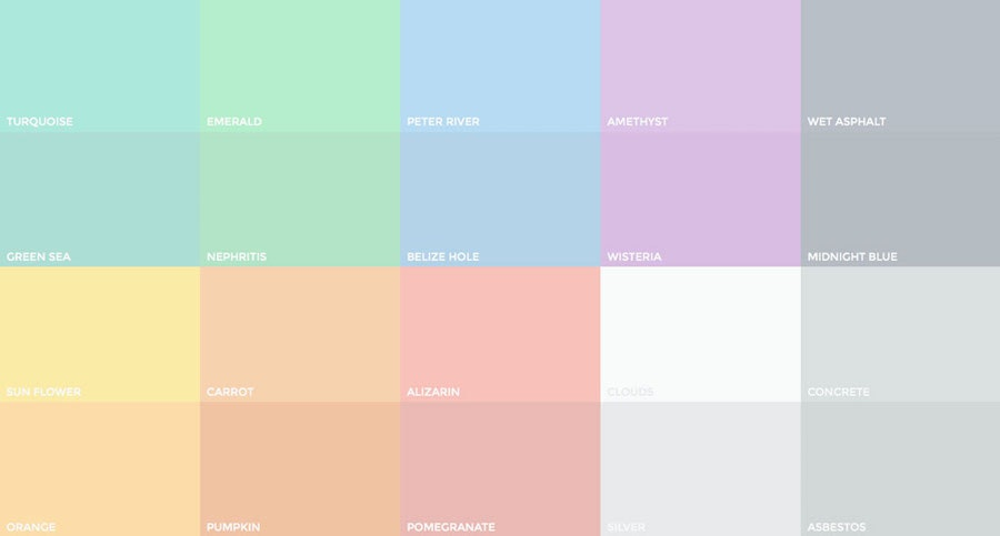 harness the power of pastel colors