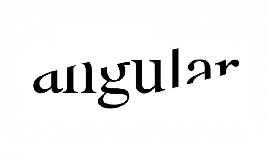 angular text