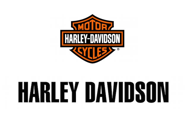 20 famous logos made with helvetica 99designs rh 99designs com harley davidson logo font type harley davidson logo font type