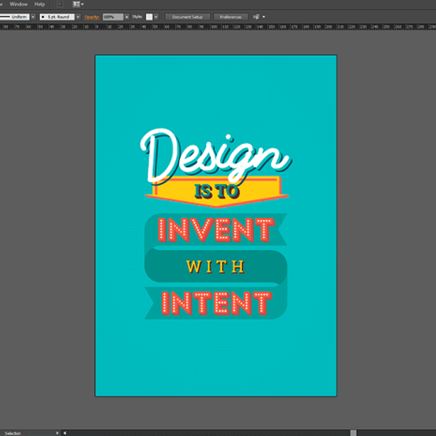 Create a typographic poster in Adobe Illustrator - 99designs