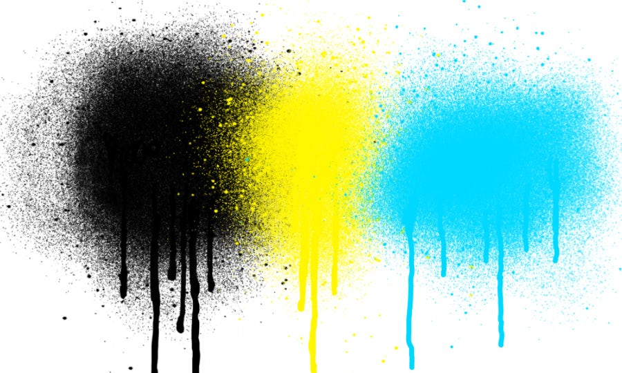 Drip spray paint photoshop