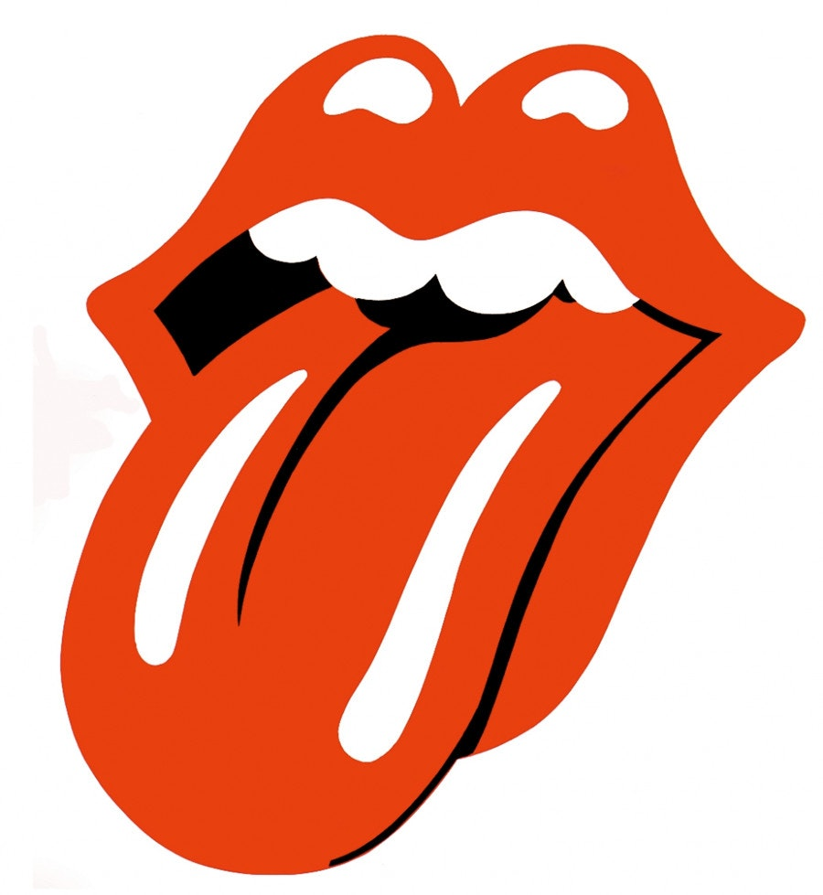 The Rolling Stones tongue logo