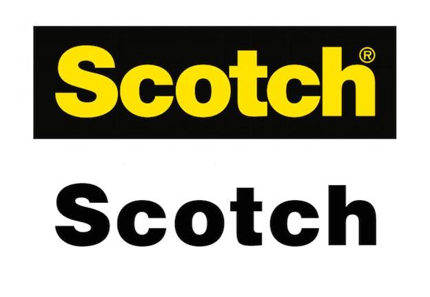 Scotch tape logo