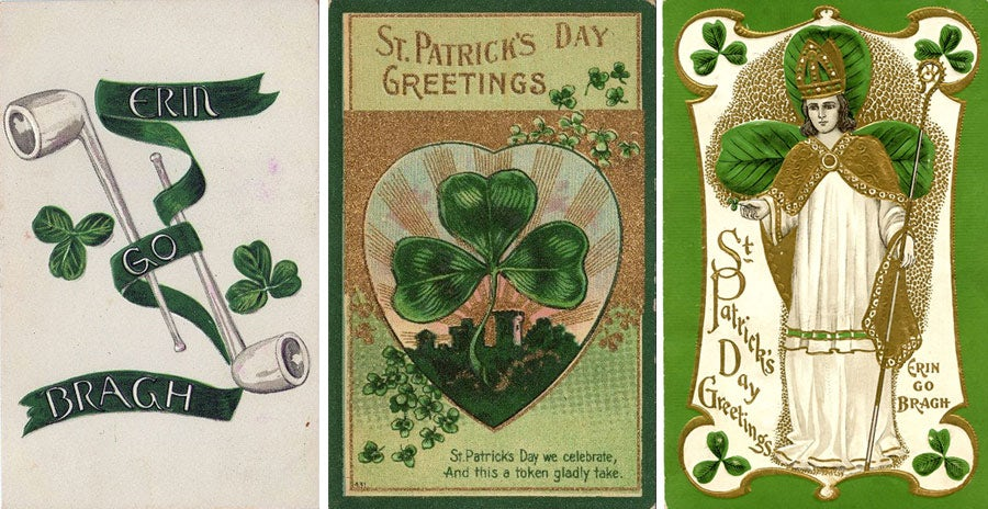 St. Patrick's Day symbols: Shamrocks