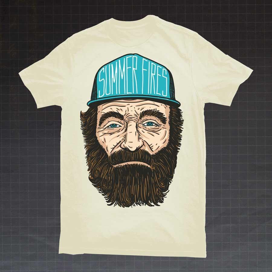 Summer Fires t-shirt
