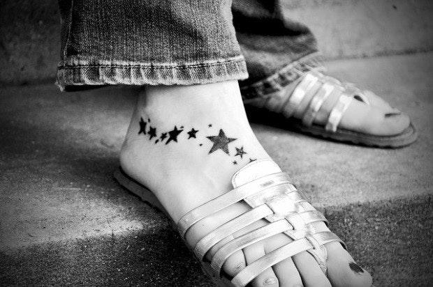 タトゥーの部位