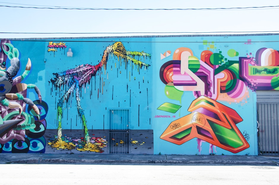 Bird Wynwood wall by Brusk