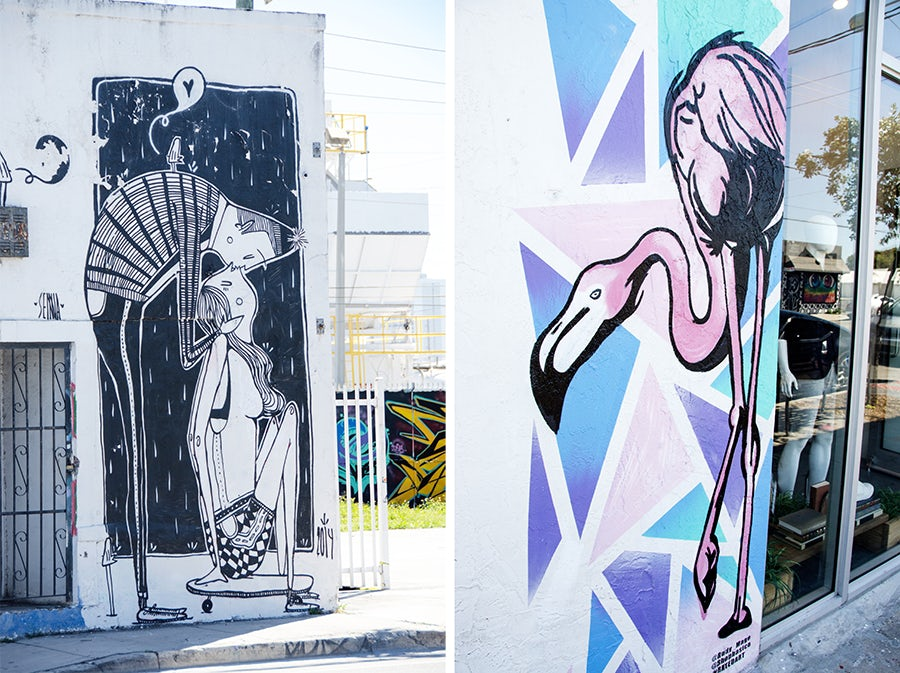 Wynwood walls by Alex Senna and Rudy Mage