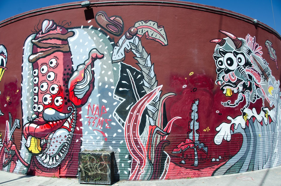 Weird monster Wynwood wall by Sheryo