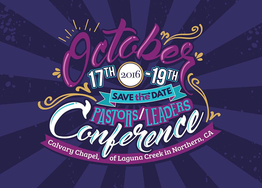 Leader conference postcard