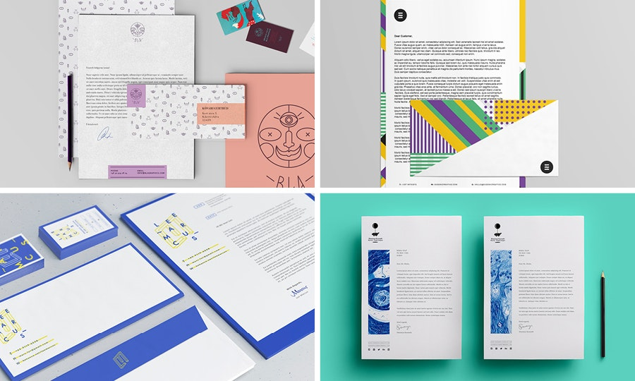Letterhead and envelopes: Crazy