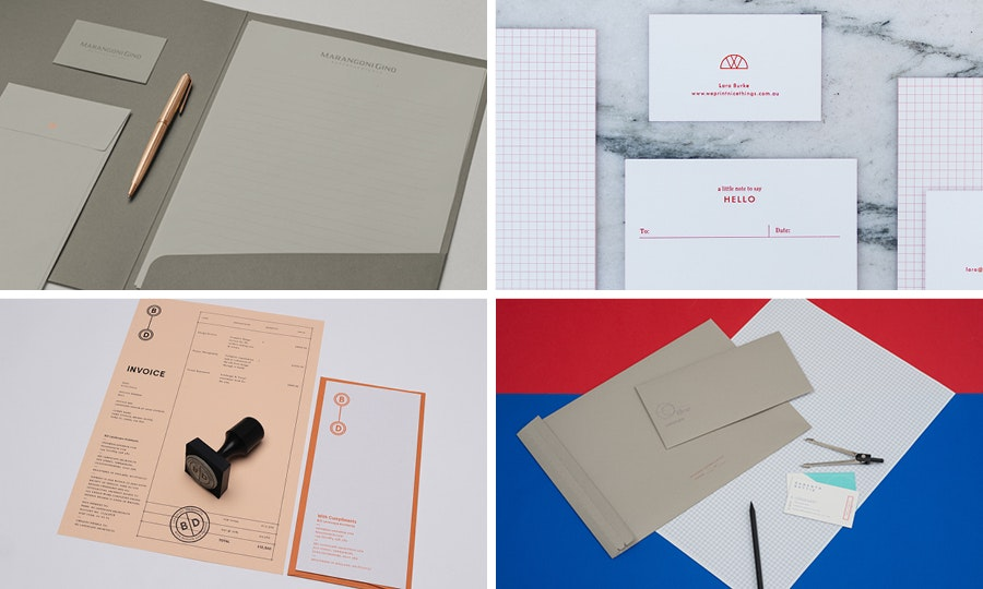 Letterhead and envelopes: School House