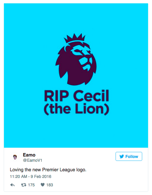 premier league logo instagram