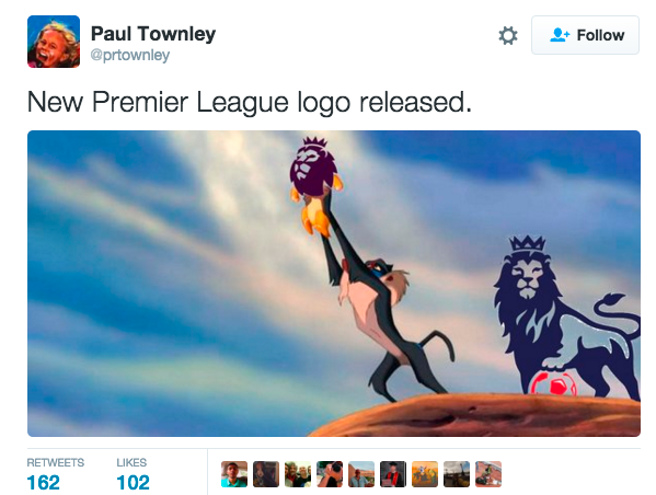premier league logo kritik
