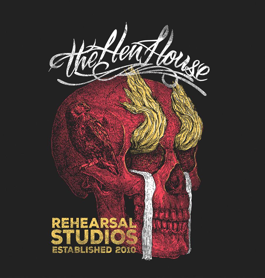 The Hen House T-shirt design