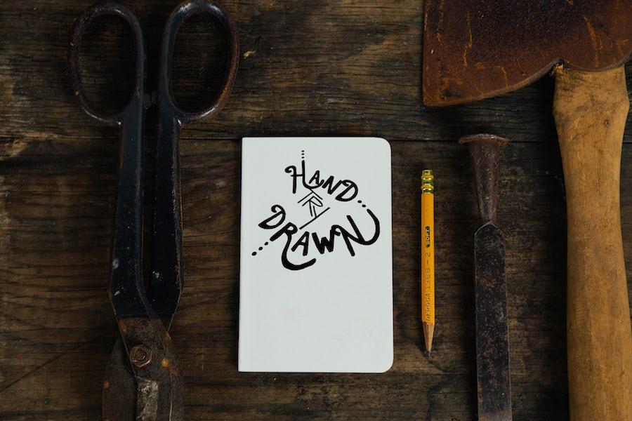 Digital hand-lettering