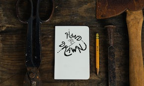 A digital hand-lettering tutorial for beginners