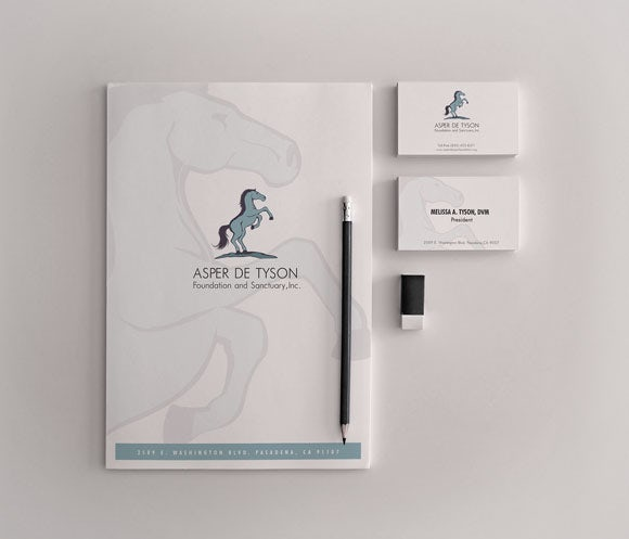 Logo & business card for Asper de Tyson
