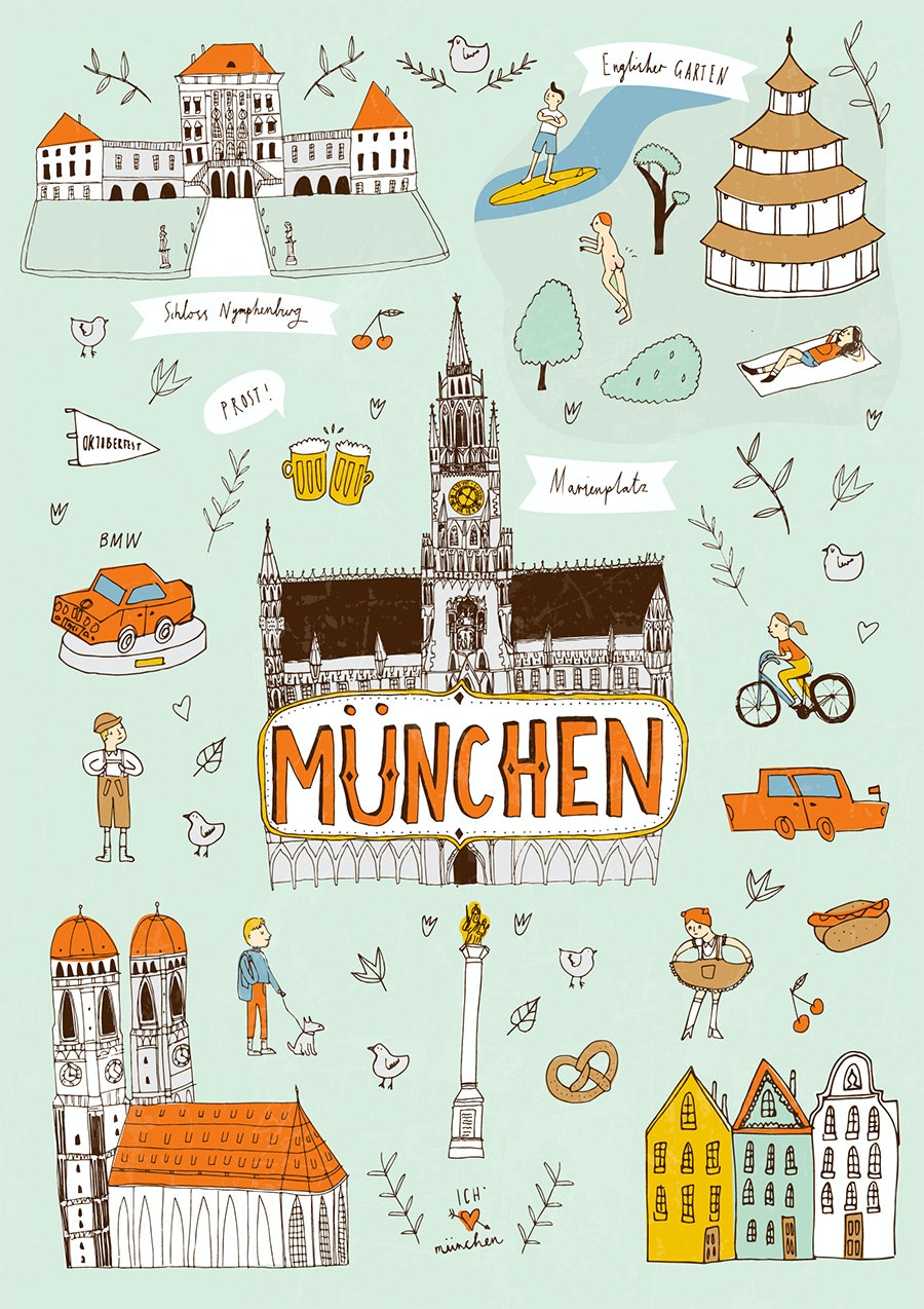 munich poster design