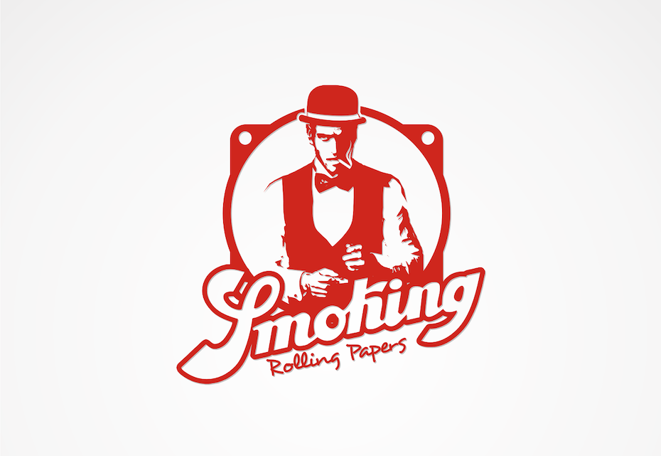 Mr. Smoking Logo Design
