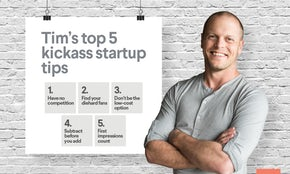 Top 5 tips for a kickass startup with Tim Ferriss