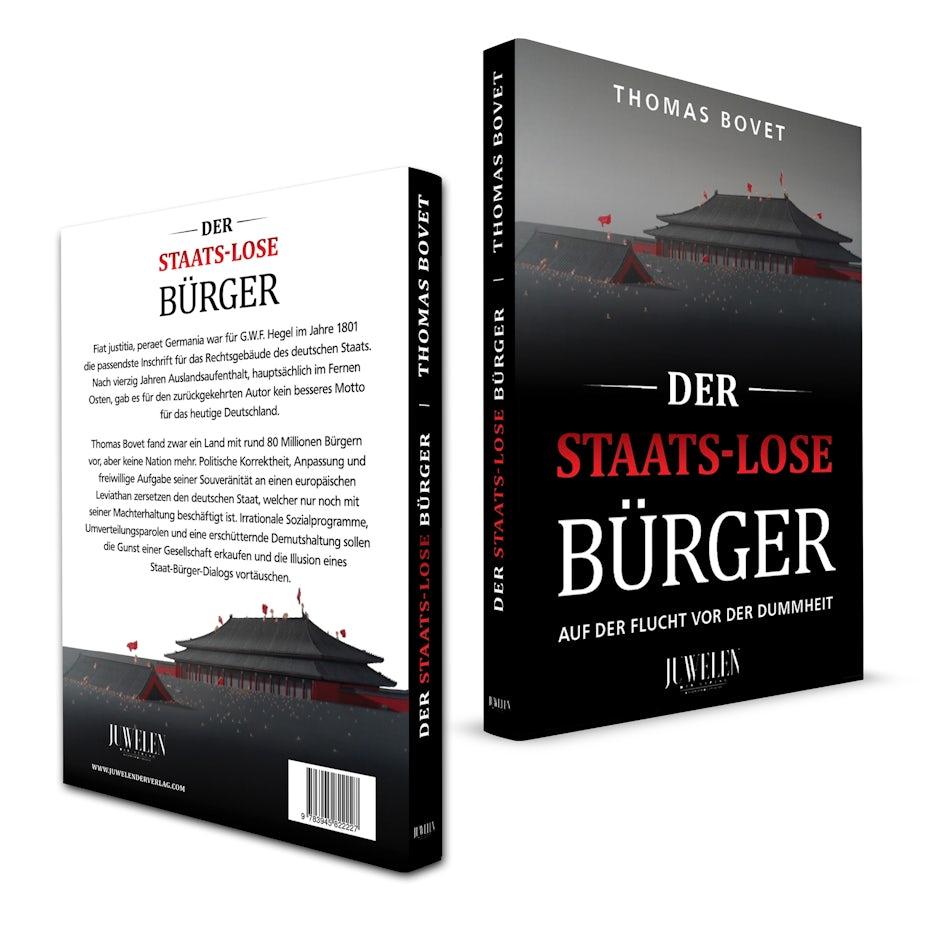 Buchcover Design JUWELEN Verlag