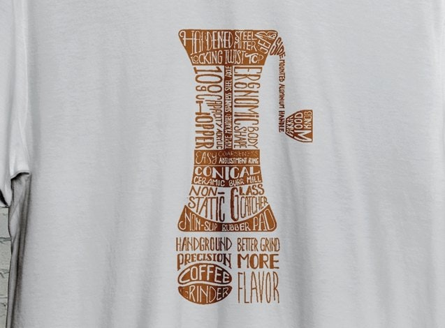 handground coffee tshirt