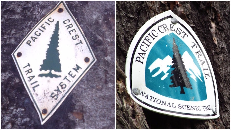 hiking trail emblems