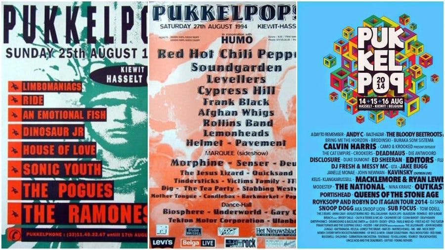 Pukkelpop festival posters