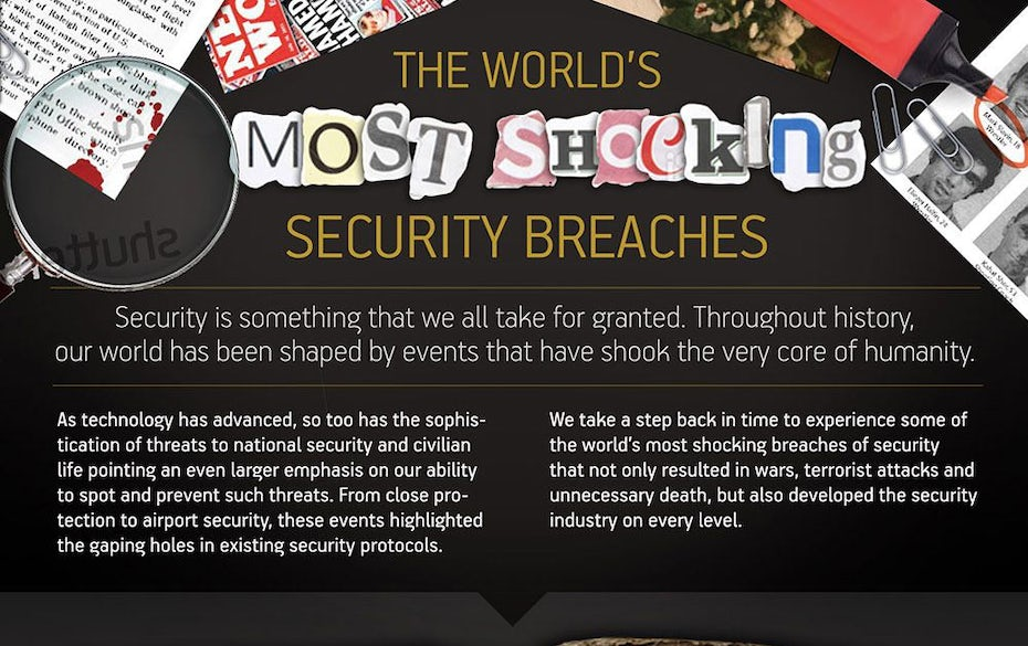 security breaches infographic
