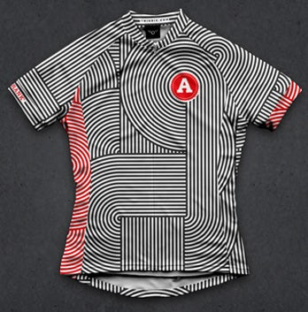 pattern cycling jersey design