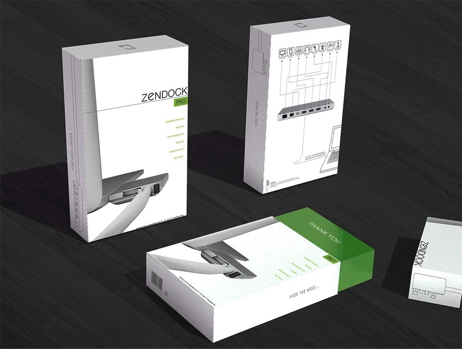 zendock packaging