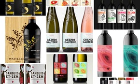 99designersによるアイキャッチなワインラベルのデザイン50選