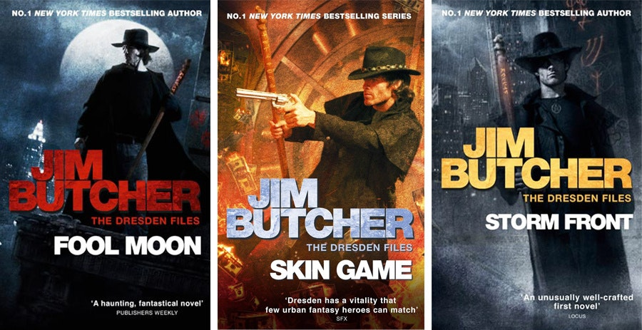 Jim Butcher book covers